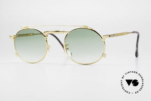 Chai No4 Round Vergoldete Wasserhahn Brille Details