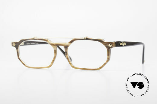 MCM München 301 Büffelhorn Vintage Brille 80er Details