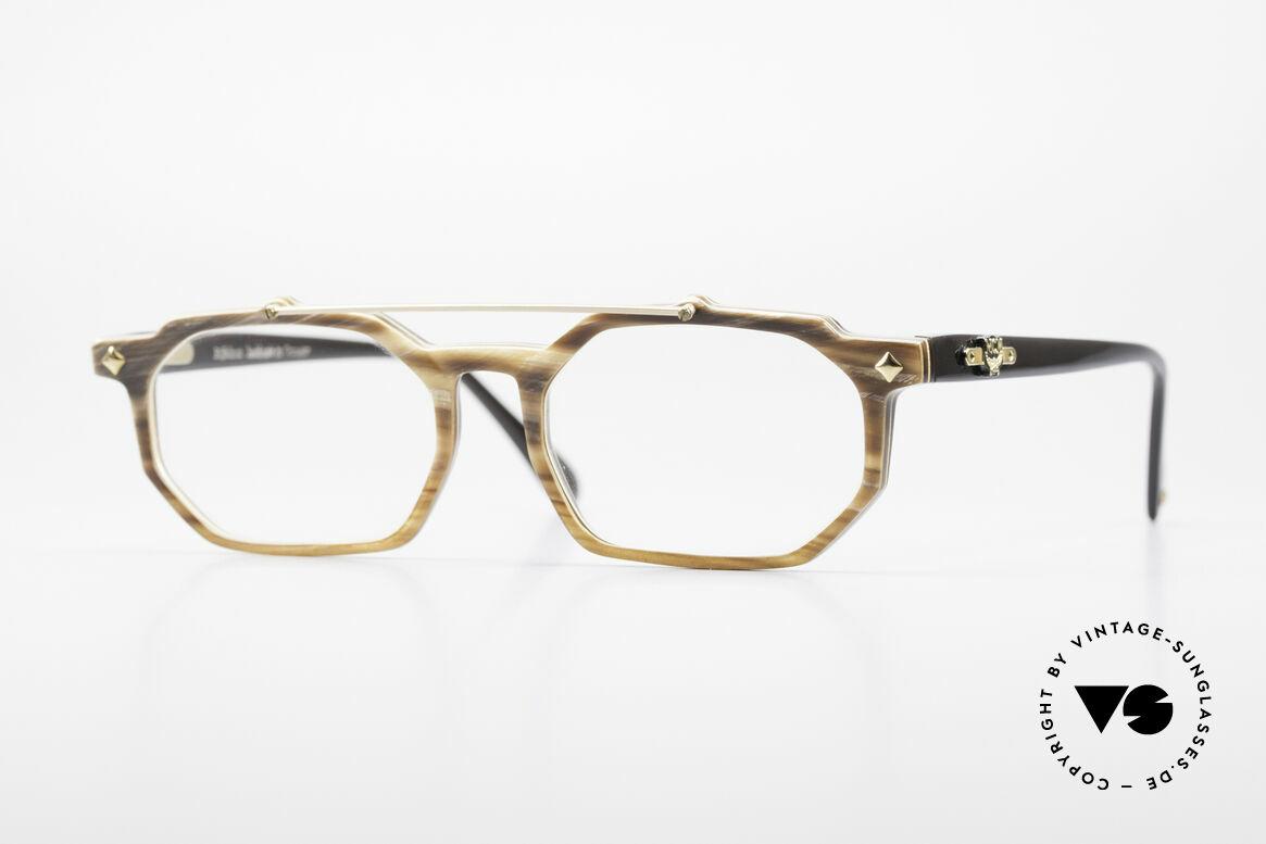 MCM München 301 Büffelhorn Vintage Brille 80er, 1980er Jahre vintage Luxus-Hornbrille von MCM, Passend für Herren und Damen