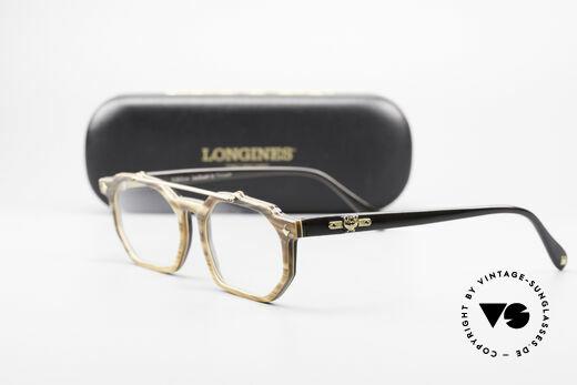 MCM München 301 Büffelhorn Vintage Brille 80er, Größe: medium, Passend für Herren und Damen