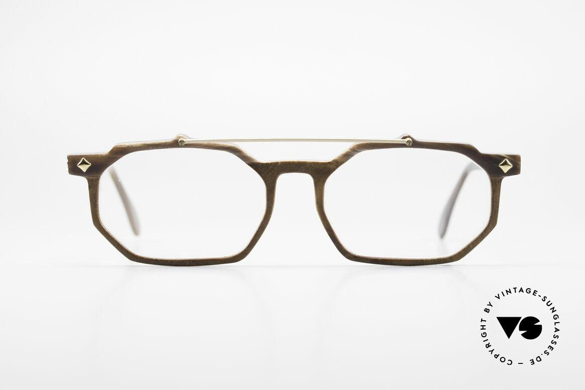 MCM München 301 Büffelhorn Brille 80er Vintage