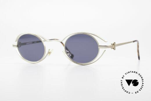 Karl Lagerfeld 4123 True Vintage Brille Oval 90er Details