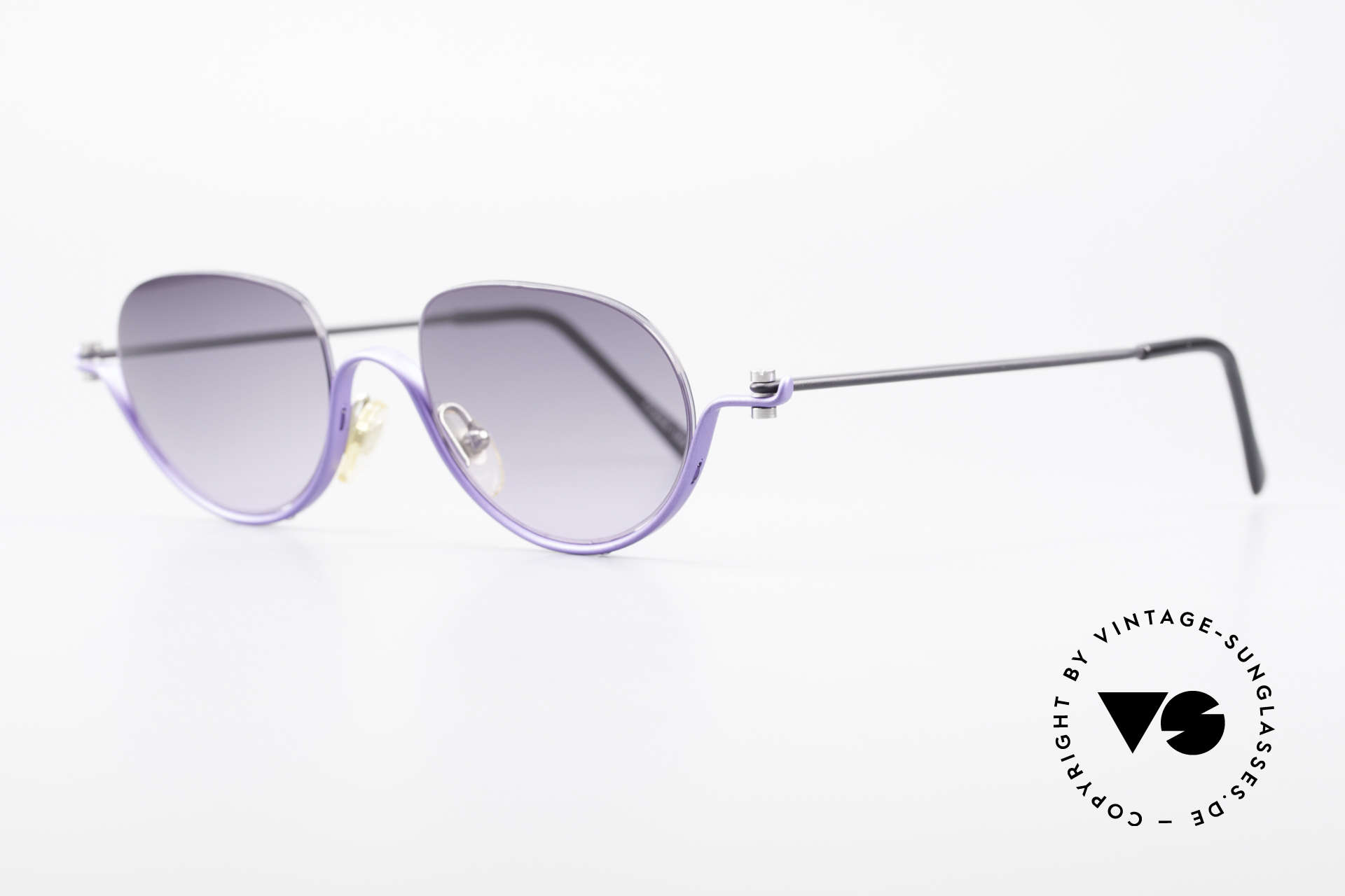ProDesign No8 Gail Spence Design Brille, der Nachfolger der berühmten N°ONE FILMBRILLE, Passend für Damen