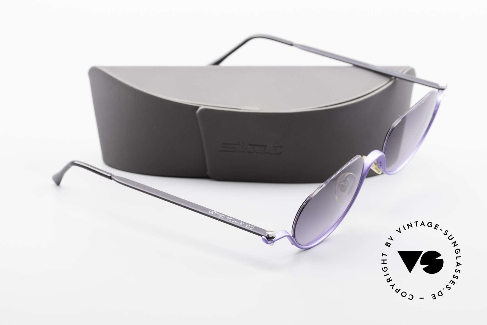 ProDesign No8 Gail Spence Design Brille, grandioses Einzelstück; nicht nur für Filmliebhaber, Passend für Damen