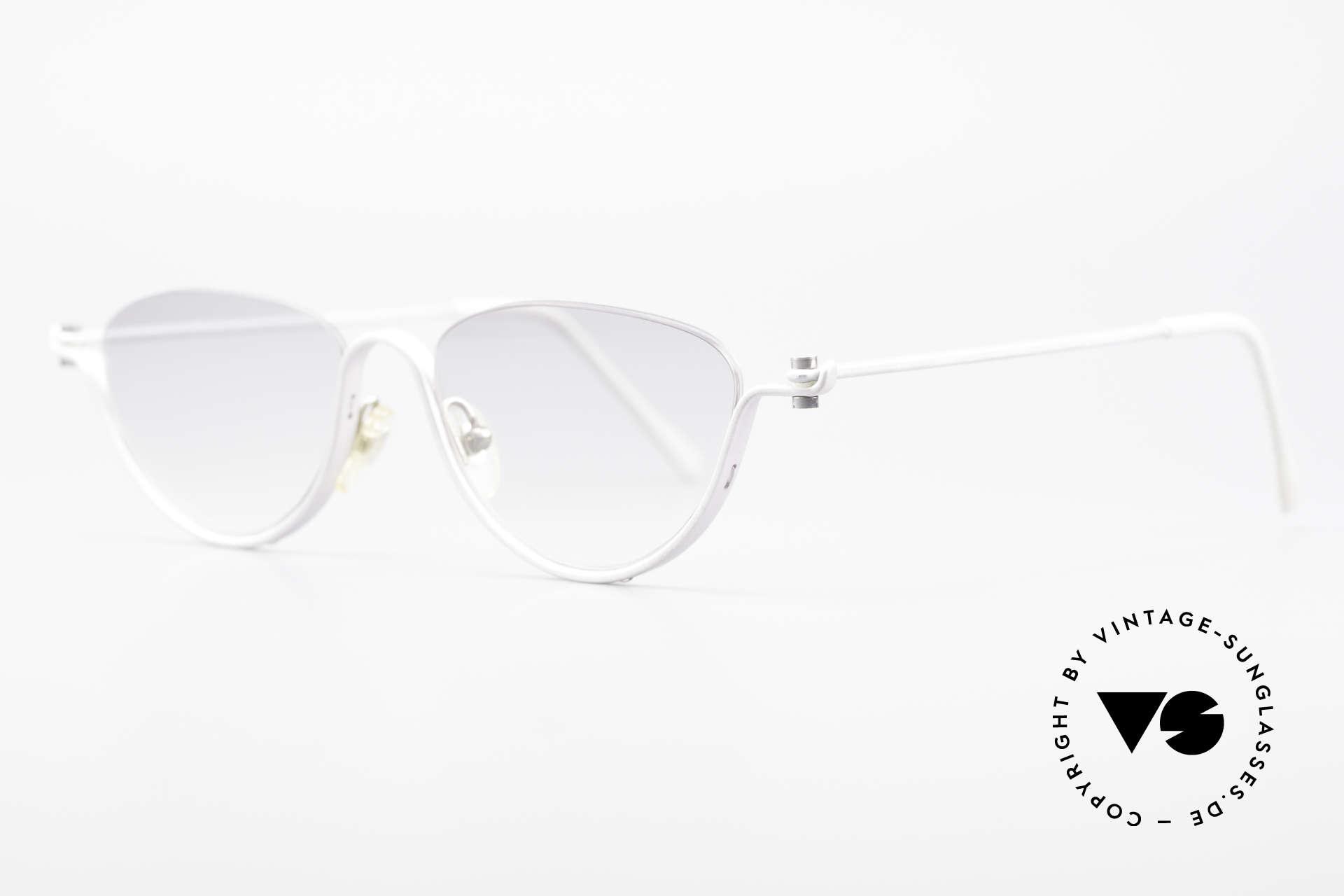 ProDesign No10 Gail Spence Design Brille, der Nachfolger der berühmten N°ONE FILMBRILLE, Passend für Damen