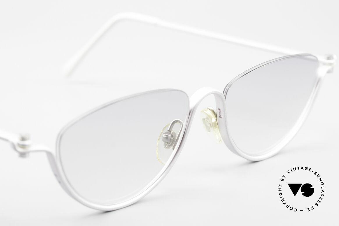 ProDesign No10 Gail Spence Design Brille, dieses ungetragene N°10 Modell stammt von ca. '95, Passend für Damen