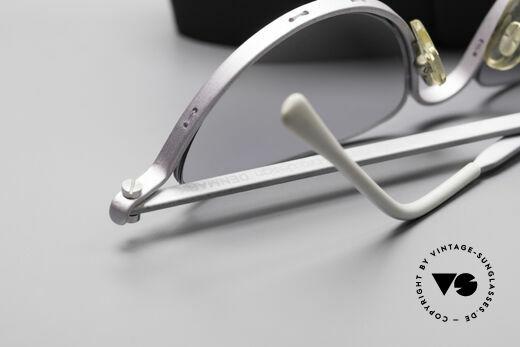 ProDesign No10 Gail Spence Design Brille, Gläser in hellem grau-Verlauf + Etui von Silhouette, Passend für Damen