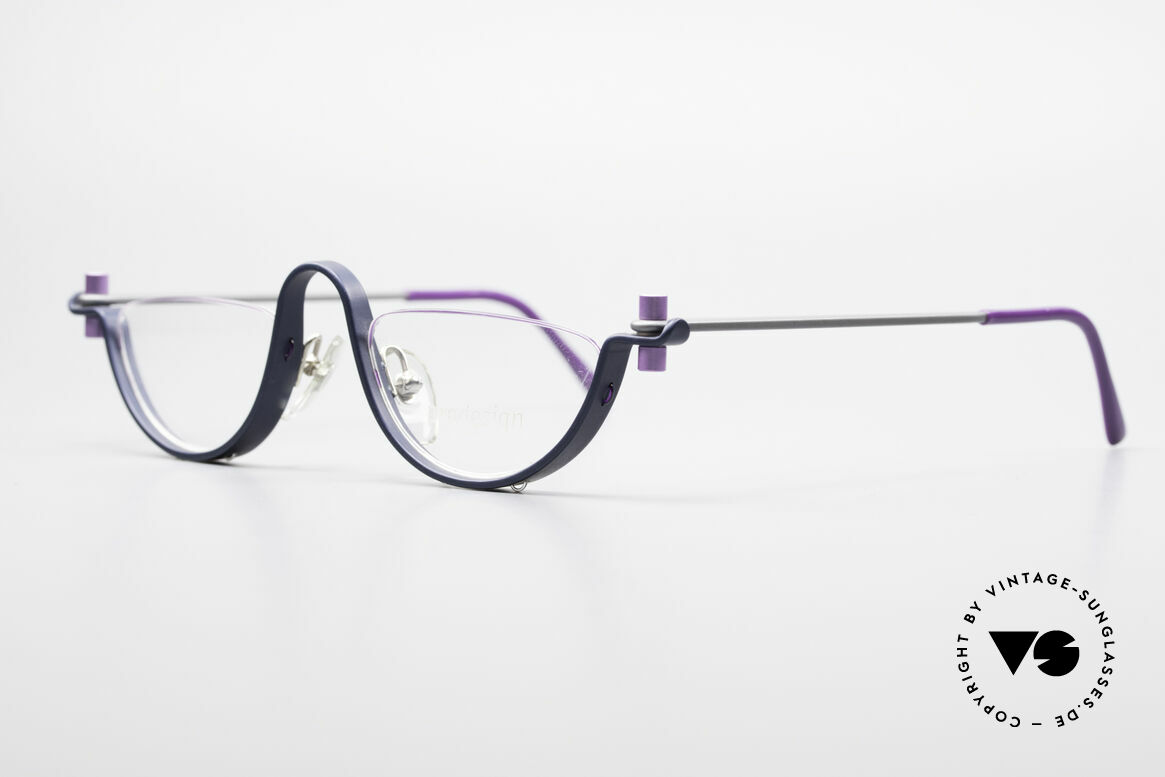 ProDesign No1 Half Gail Spence Designer Brille