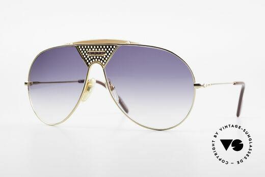 Alpina TR4 80er Miami Vice Sonnenbrille Details