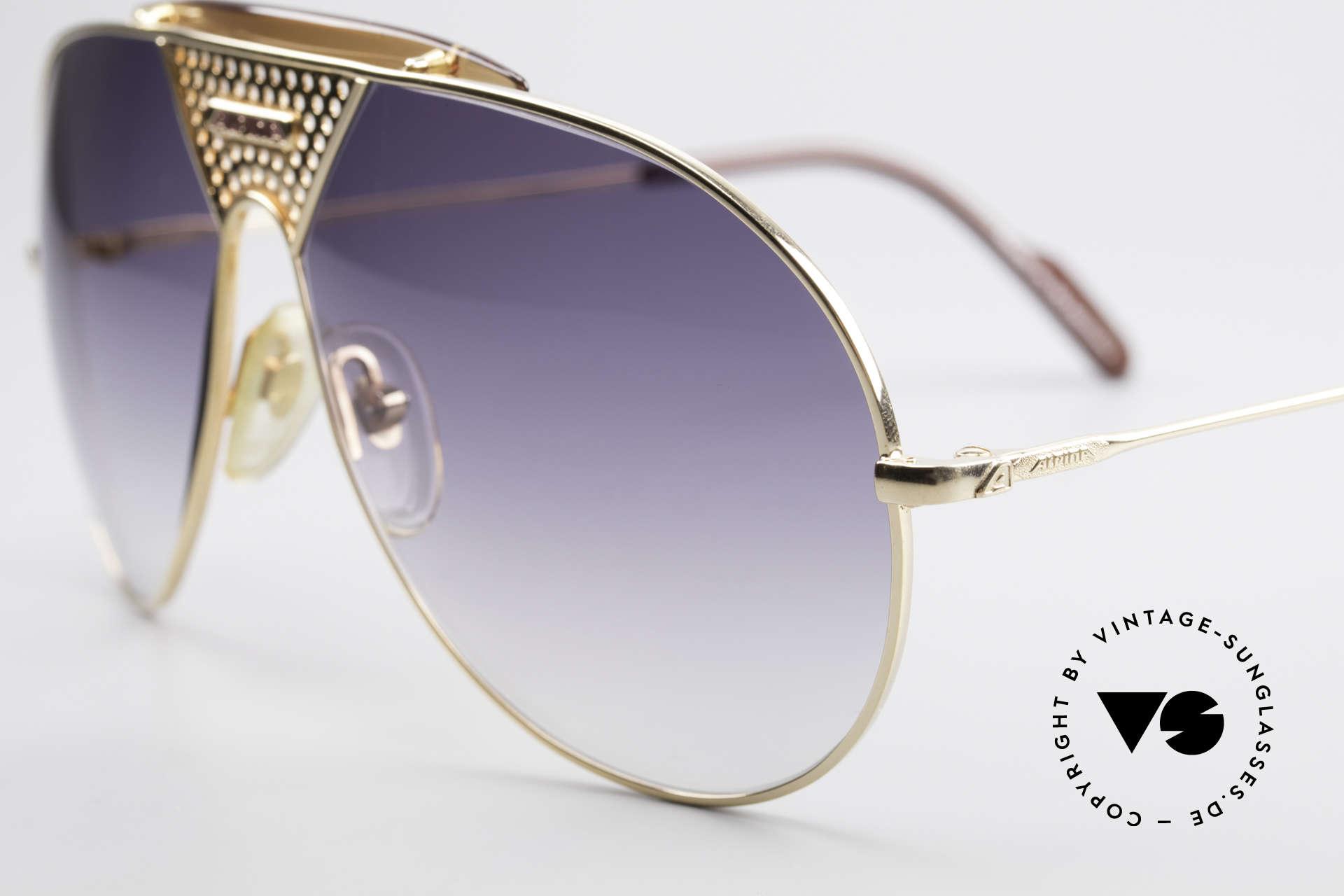 Alpina TR4 80er Miami Vice Sonnenbrille, eine Design-Legende in Premium-Qualität; 100% UV, Passend für Herren