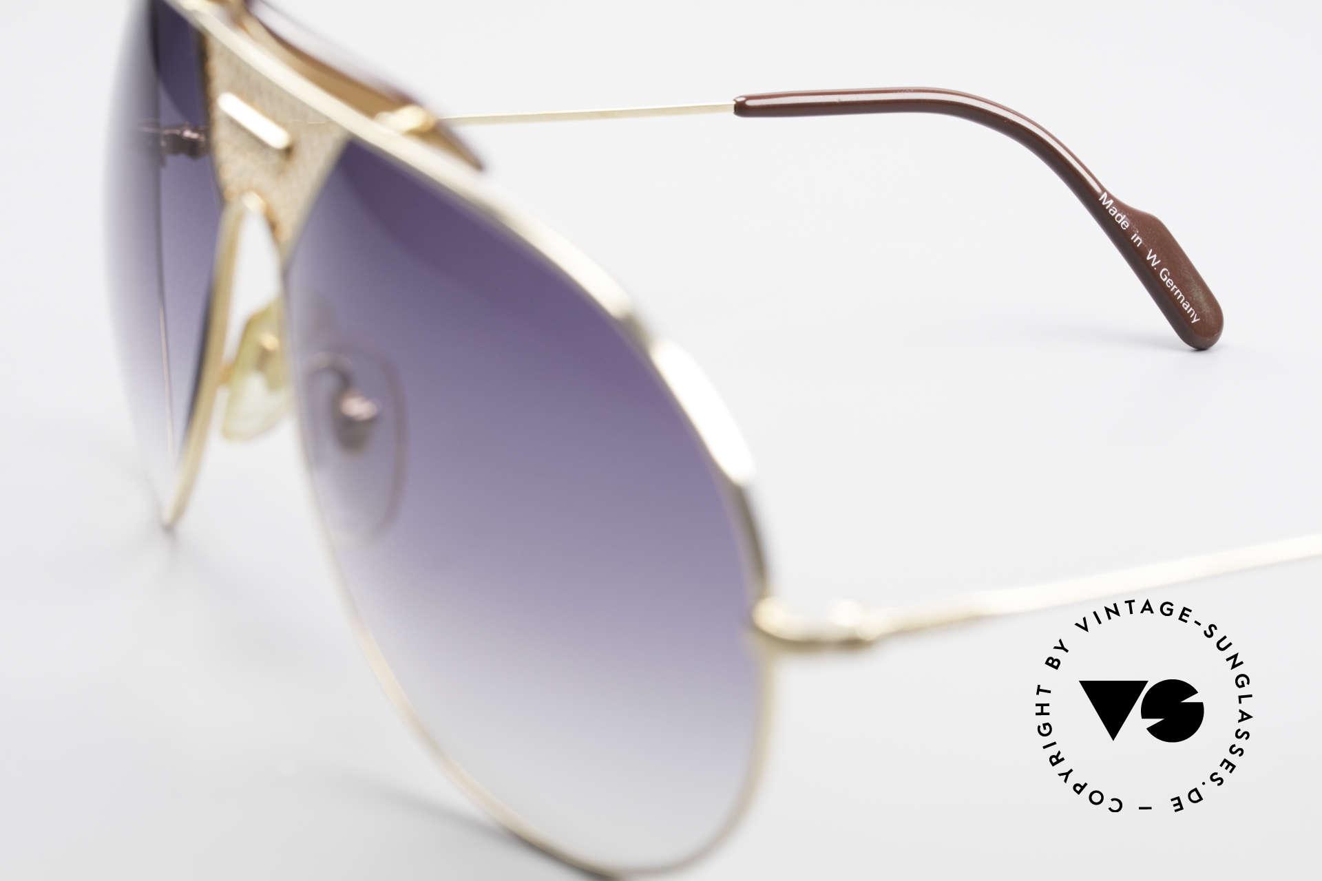 Alpina TR4 80er Miami Vice Sonnenbrille, ungetragen (wie alle unsere ALPINA Sonnenbrillen), Passend für Herren