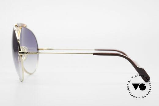 Alpina TR4 80er Miami Vice Sonnenbrille, KEINE Retrobrille; eine alte Rarität (Sammlerstück), Passend für Herren