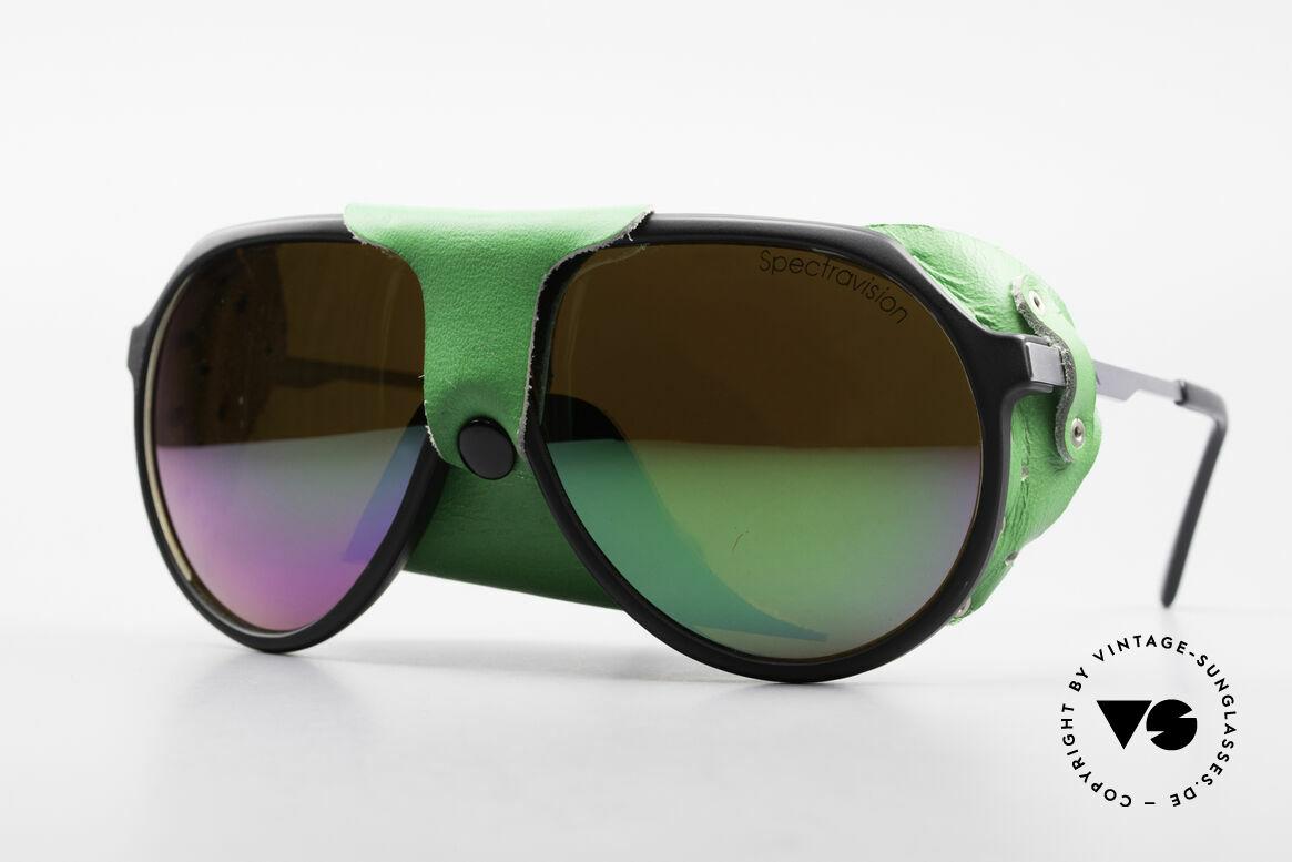 Alpina Profi Sports Glacier Sonnenbrille, vintage Alpina Sport- u. Gletschersonnenbrille von 1985, Passend für Herren und Damen