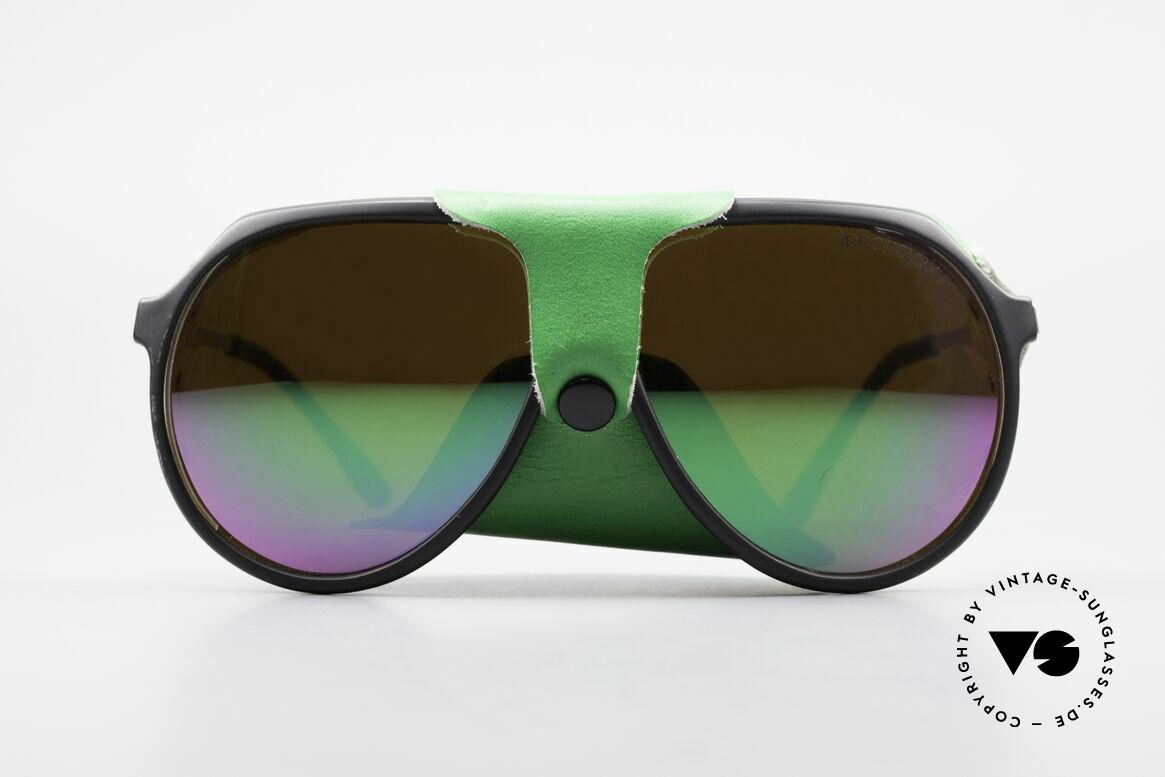 Alpina Profi Sports Glacier Sonnenbrille, perfekte Passform & hoher Tragekomfort (+ Alpina Etui), Passend für Herren und Damen