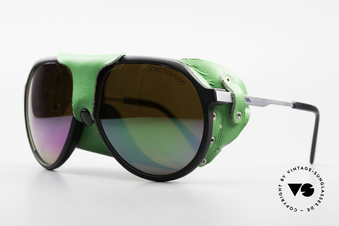 Alpina Profi Sports Glacier Sonnenbrille, SPECTRAVISION Gläser für extreme Wetterbedingungen, Passend für Herren und Damen