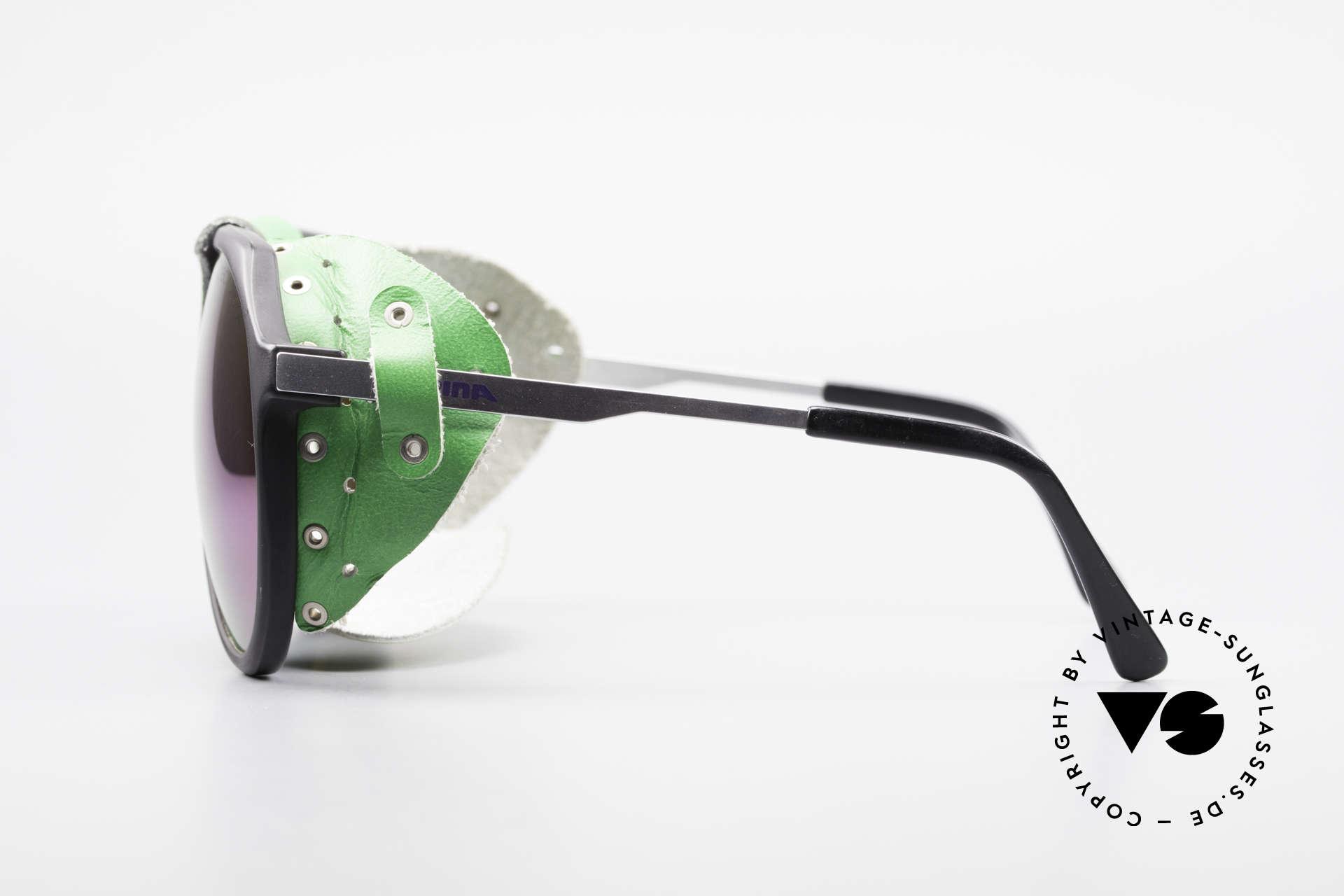Alpina Profi Sports Glacier Sonnenbrille, somit auch als 'normale' Sonnenbrille tragbar (praktisch), Passend für Herren und Damen