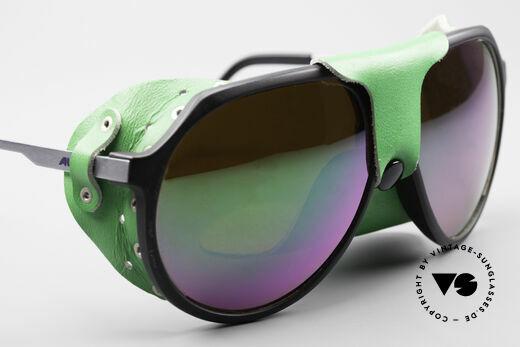 Alpina Profi Sports Glacier Sonnenbrille, ungetragen (wie alle unsere vintage Alpina Sport-Brillen), Passend für Herren und Damen