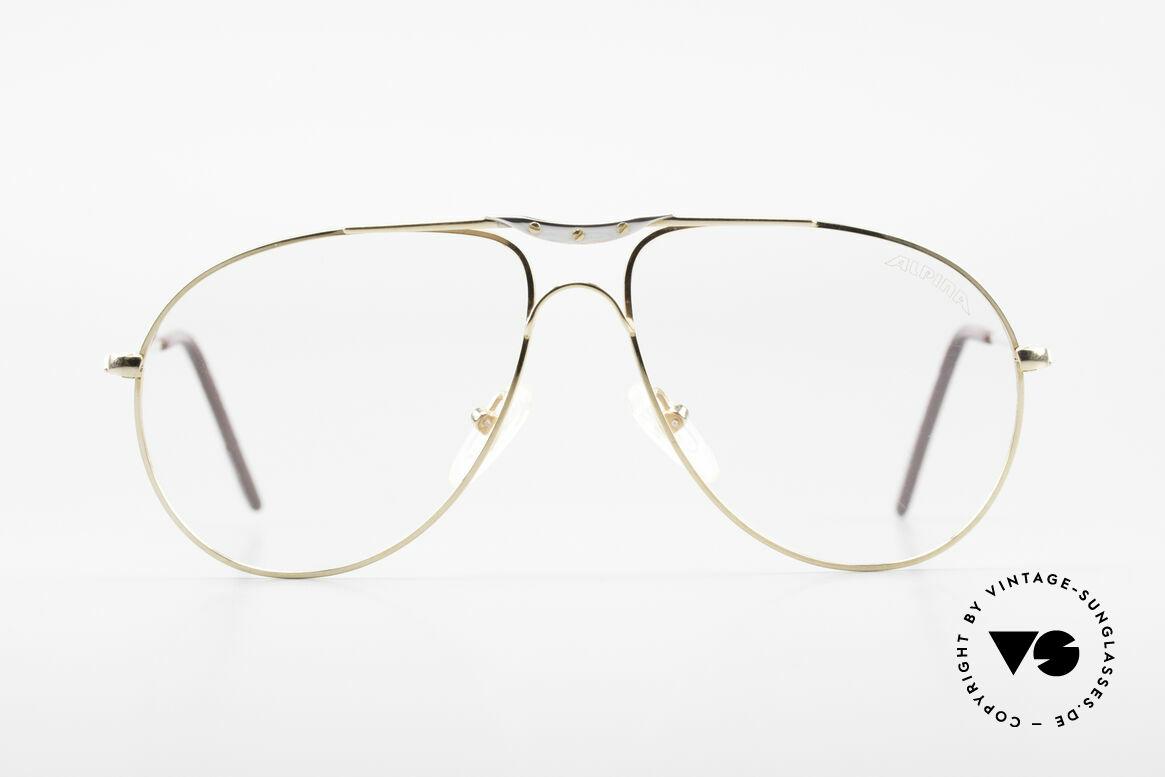 Alpina M1F751 Alte Vintage Pilotenbrille
