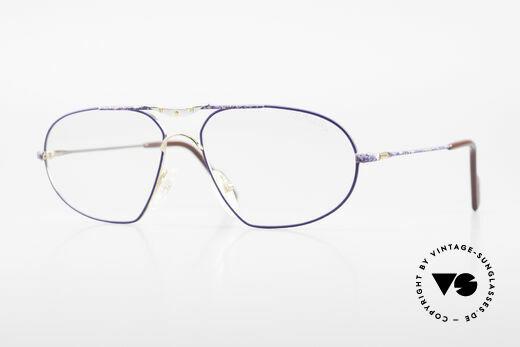 Alpina M1F755 Alte Klassische Herren Brille Details