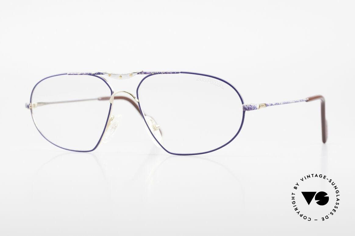 Alpina M1F755 Alte Klassische Herren Brille