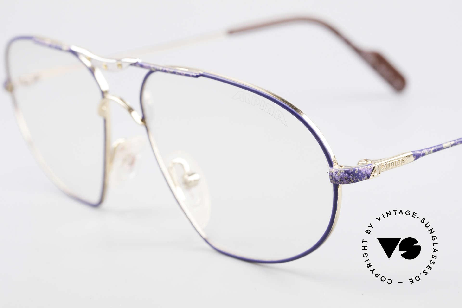 Alpina M1F755 Alte Klassische Herren Brille, ungetragen (wie alle unsere alten Brillengestelle), Passend für Herren