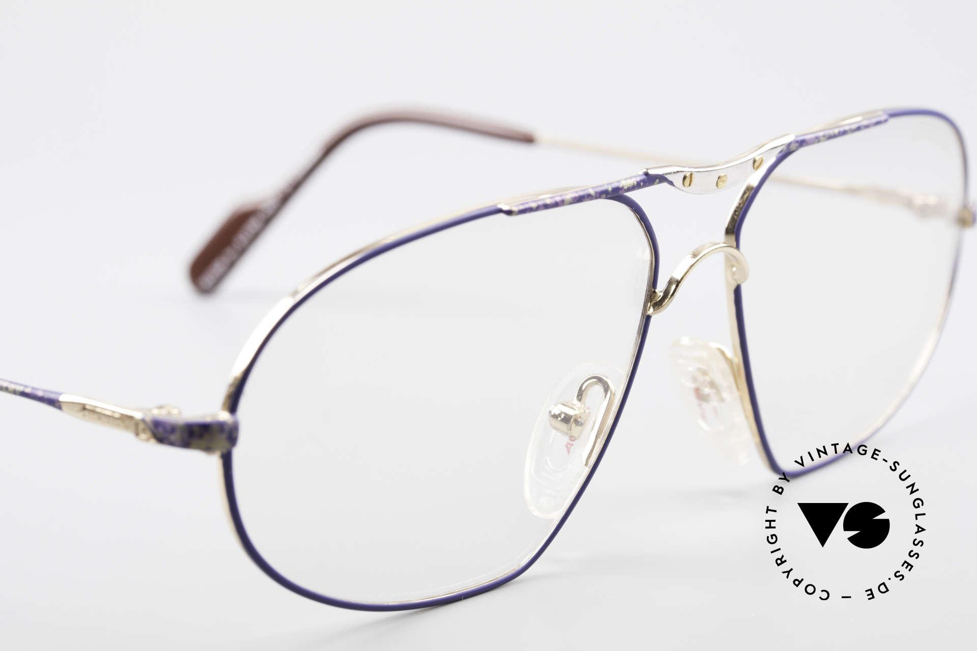 Alpina M1F755 Alte Klassische Herren Brille, KEINE retro Brille; ein circa 25 J. altes ORIGINAL, Passend für Herren