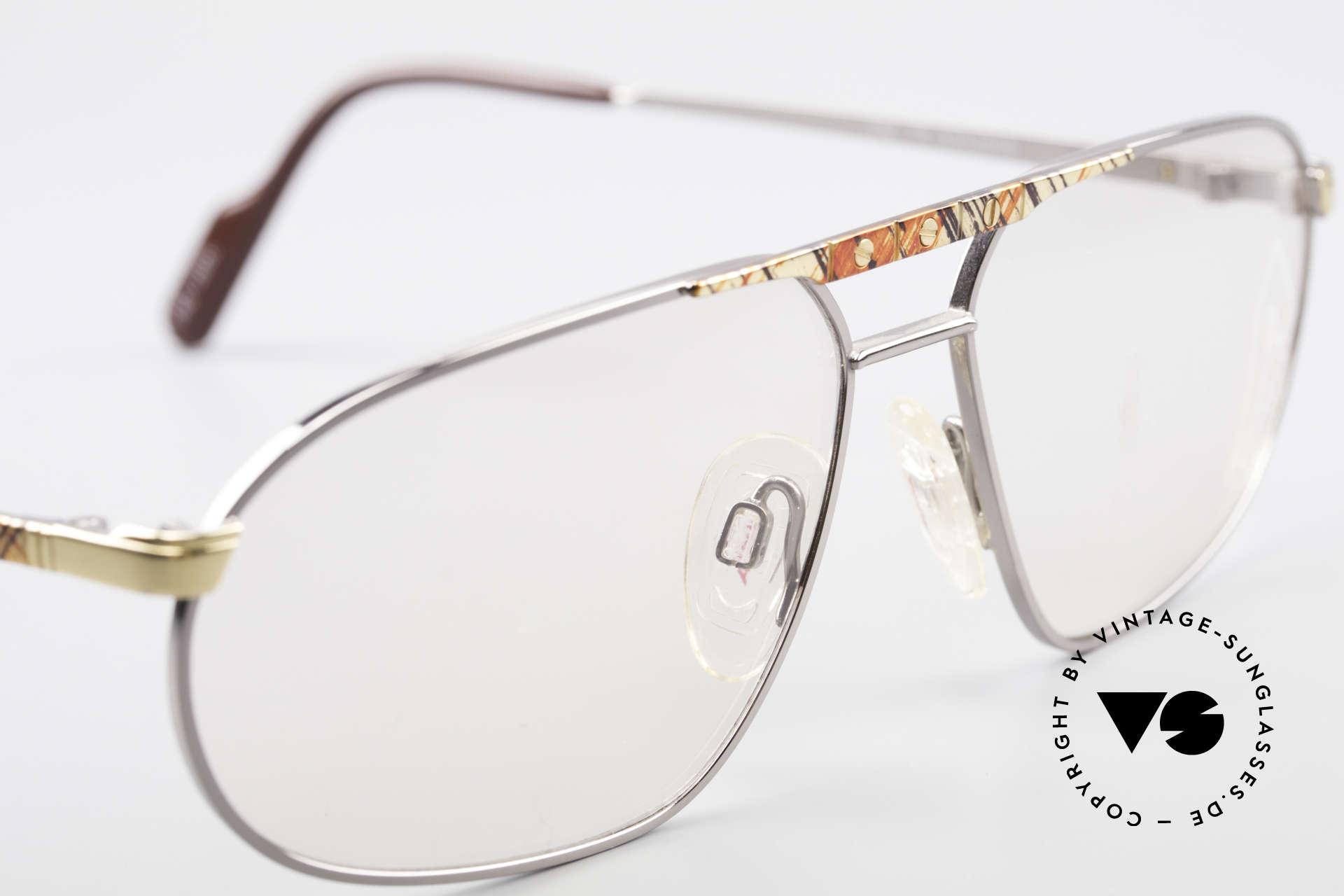 Alpina FM28 Vintage 80er Designer Fassung, ungetragen (wie alle unsere 80er Brillengestelle), Passend für Herren