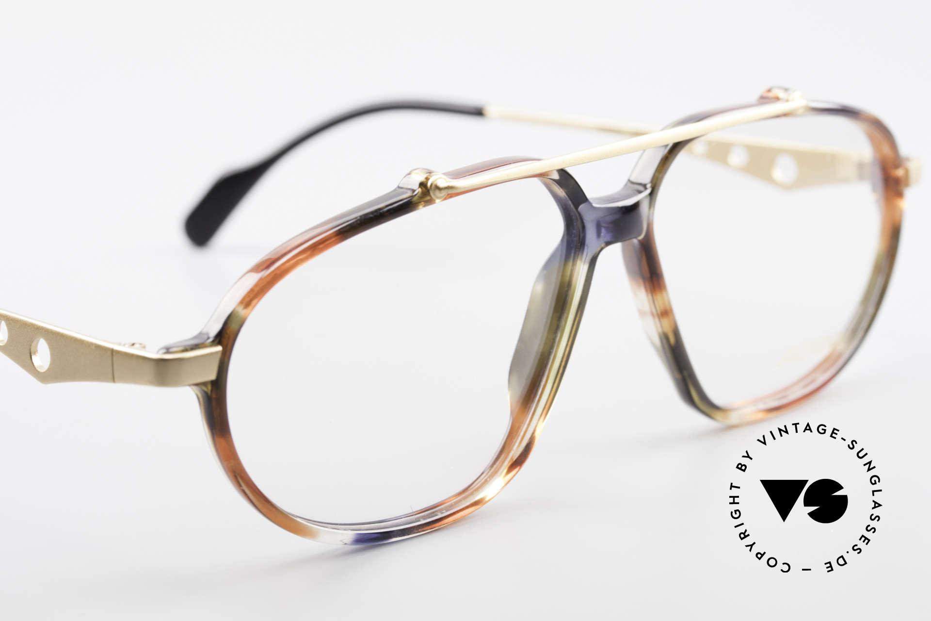 Alpina TFF461 90er Designer Brille Herren, ungetragen (wie alle unsere 90er vintage Brillen), Passend für Herren
