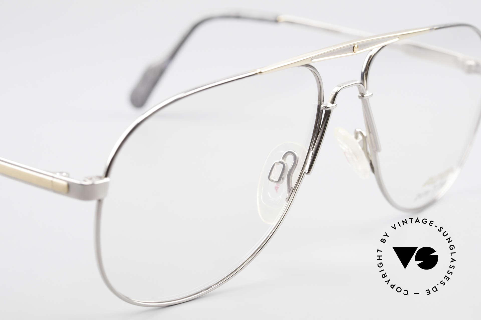 Alpina M1FT Vintage Aviator Titan Brille, KEINE RETROBRILLE, 100% vintage 90er Original, Passend für Herren