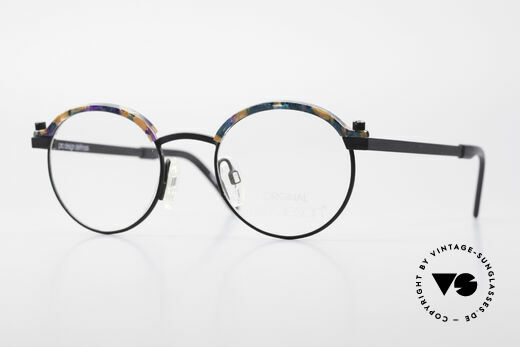 ProDesign Proswitch 4 Runde Vintage Panto Brille Details