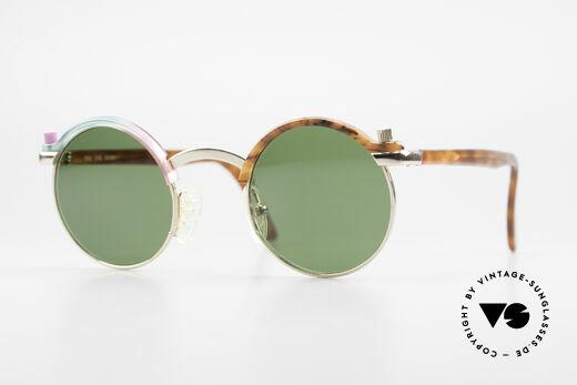 Poul Stig Circle Runde Vintage Panto Brille Details