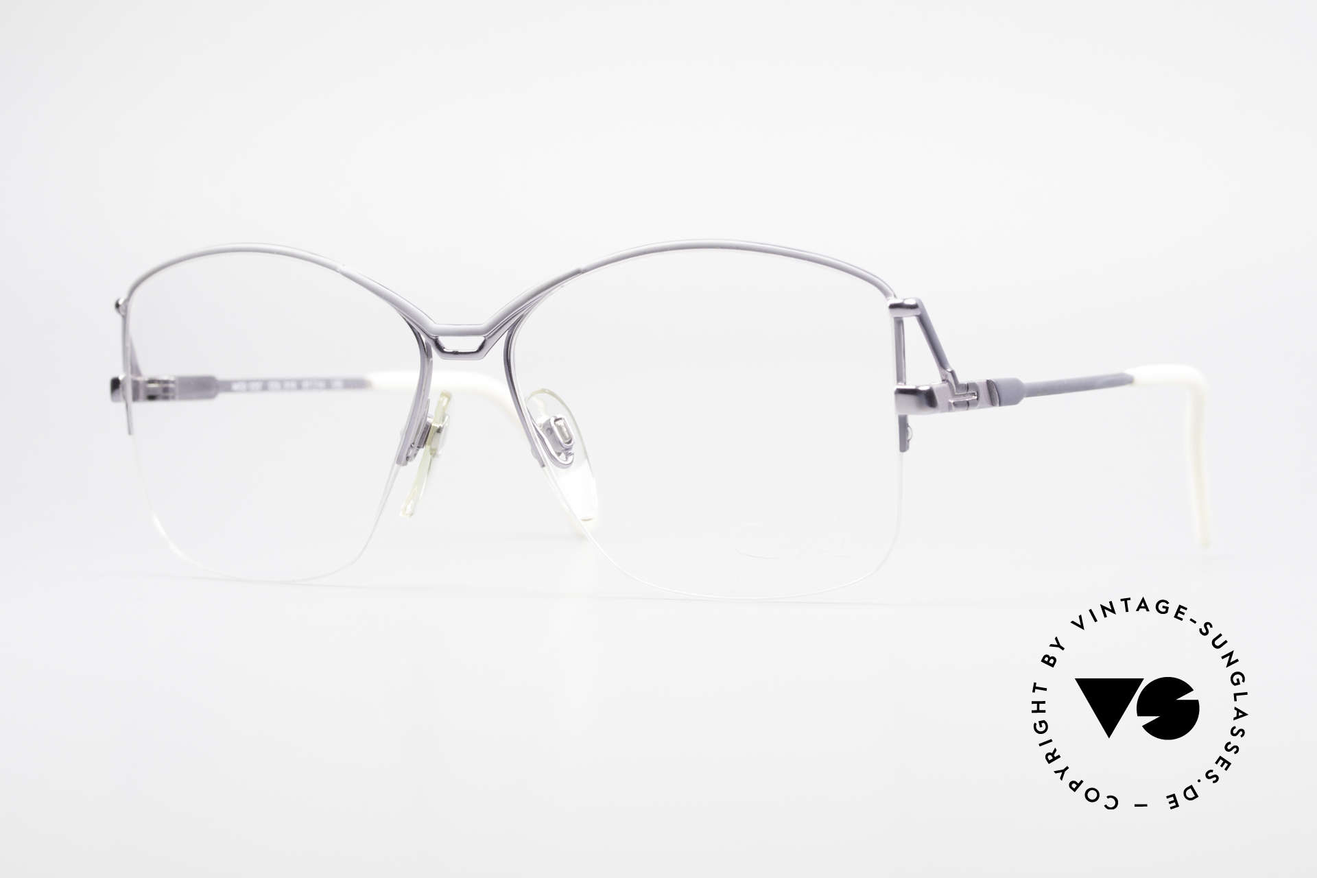 Cazal 222 80er Original Keine Retrobrille, vintage Brillengestell für Damen von CAZAL, Passend für Damen