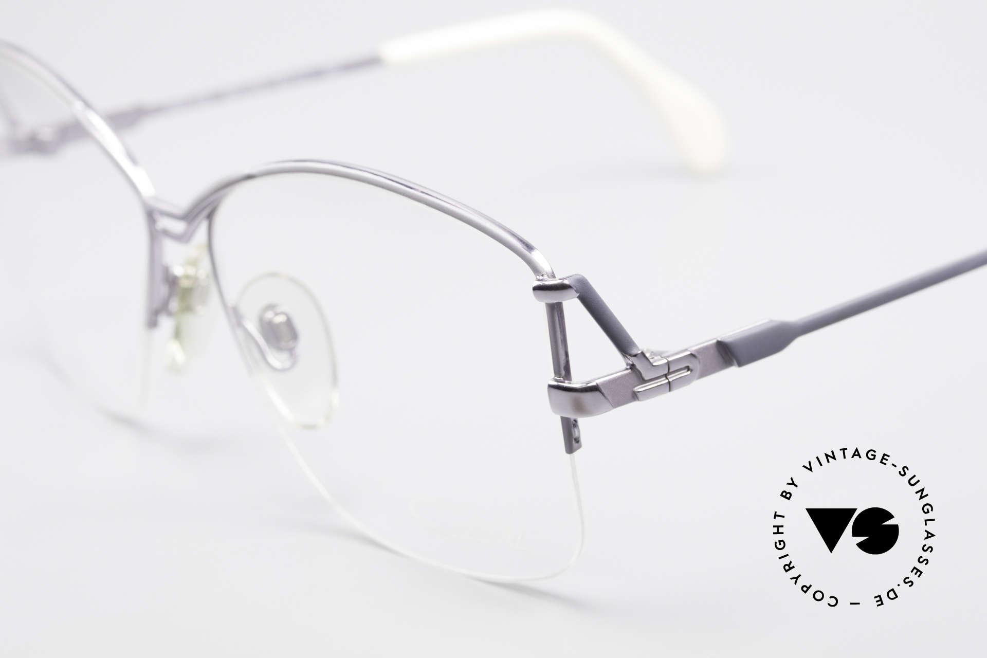 Cazal 222 80er Original Keine Retrobrille, eine der ersten Cazals überhaupt (altes Logo), Passend für Damen