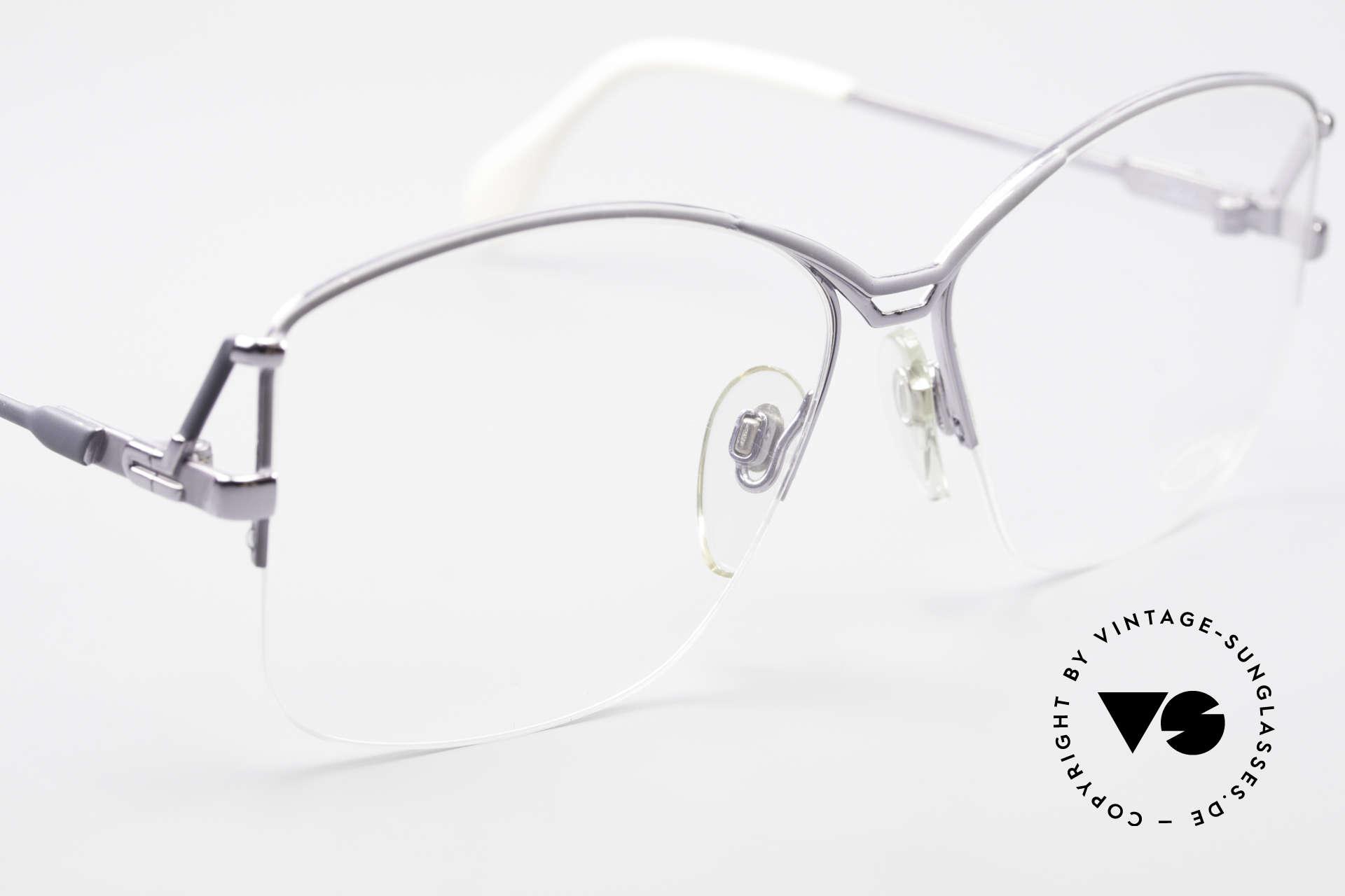 Cazal 222 80er Original Keine Retrobrille, ungetragen; wie alle unsere 70er/ 80er Brillen, Passend für Damen