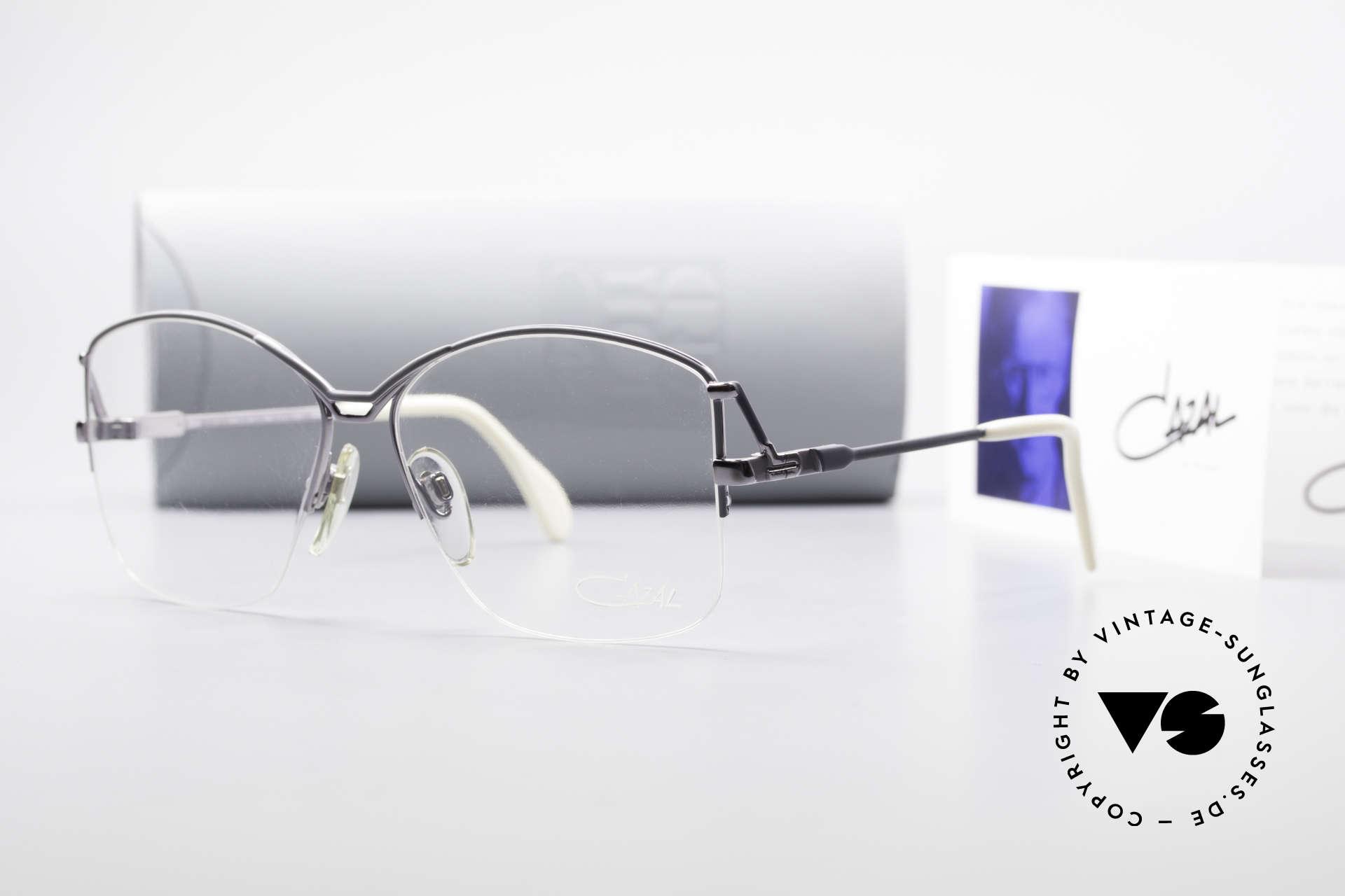 Cazal 222 80er Original Keine Retrobrille, Größe: medium, Passend für Damen
