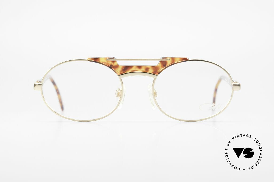 Cazal 749 Ovale Designer Brille Unisex, absolute TOP-Qualität und hoher Tragekomfort, Passend für Herren und Damen