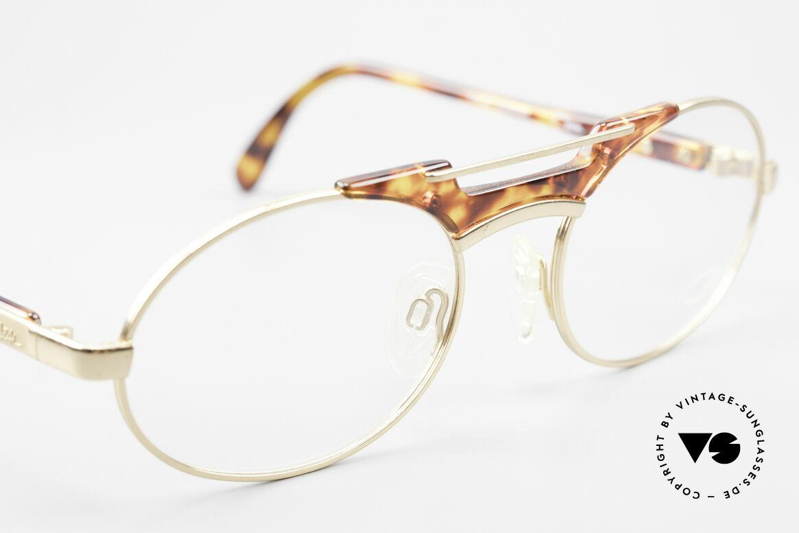 Cazal 749 Ovale Designer Brille Unisex, KEINE Retrobrille; ein 25 Jahre altes ORIGINAL!, Passend für Herren und Damen