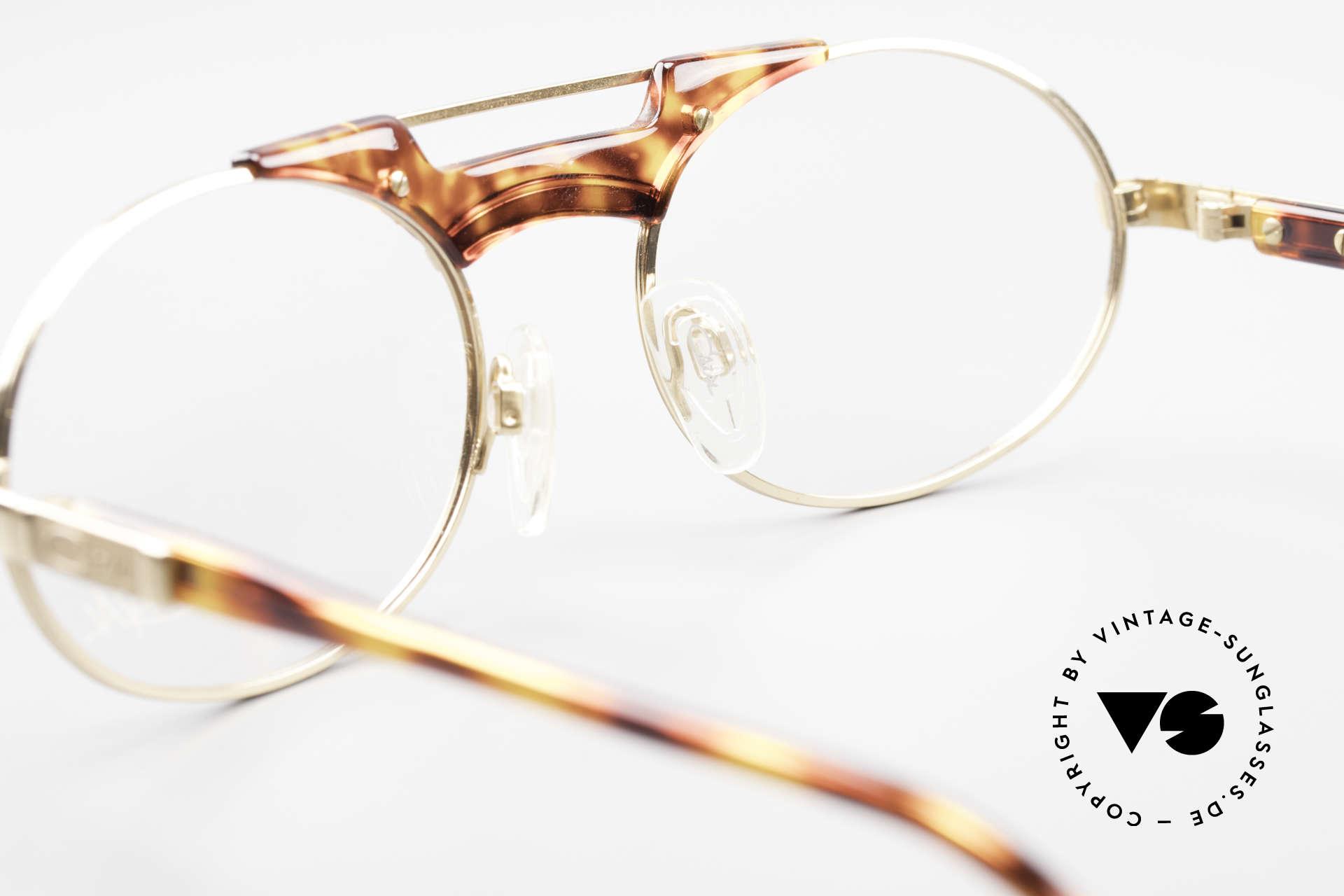 Cazal 749 Ovale Designer Brille Unisex, DEMO-Gläser können beliebig getauscht werden, Passend für Herren und Damen