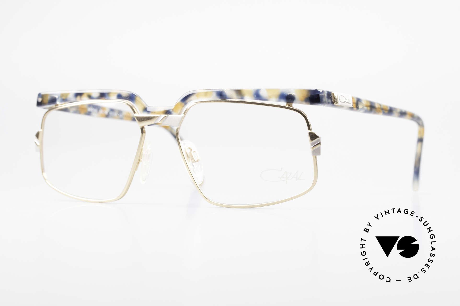 Cazal 246 Außergewöhnliche 90er Cazal, verrückte vintage Cazal Designerbrille von ca. 1993, Passend für Herren und Damen