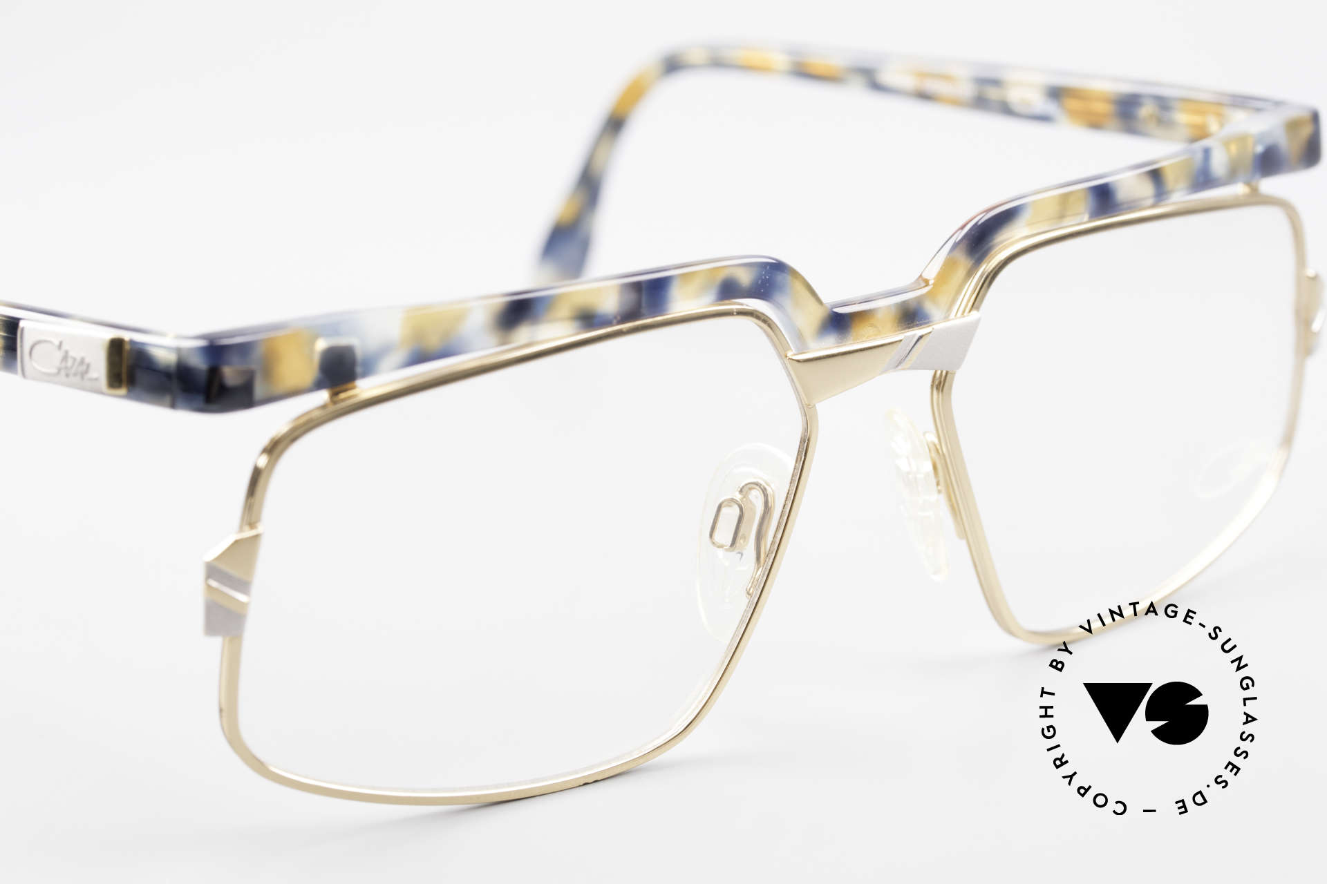 Cazal 246 Außergewöhnliche 90er Cazal, KEINE Retrobrille; ein mind. 25 Jahre altes Original!, Passend für Herren und Damen