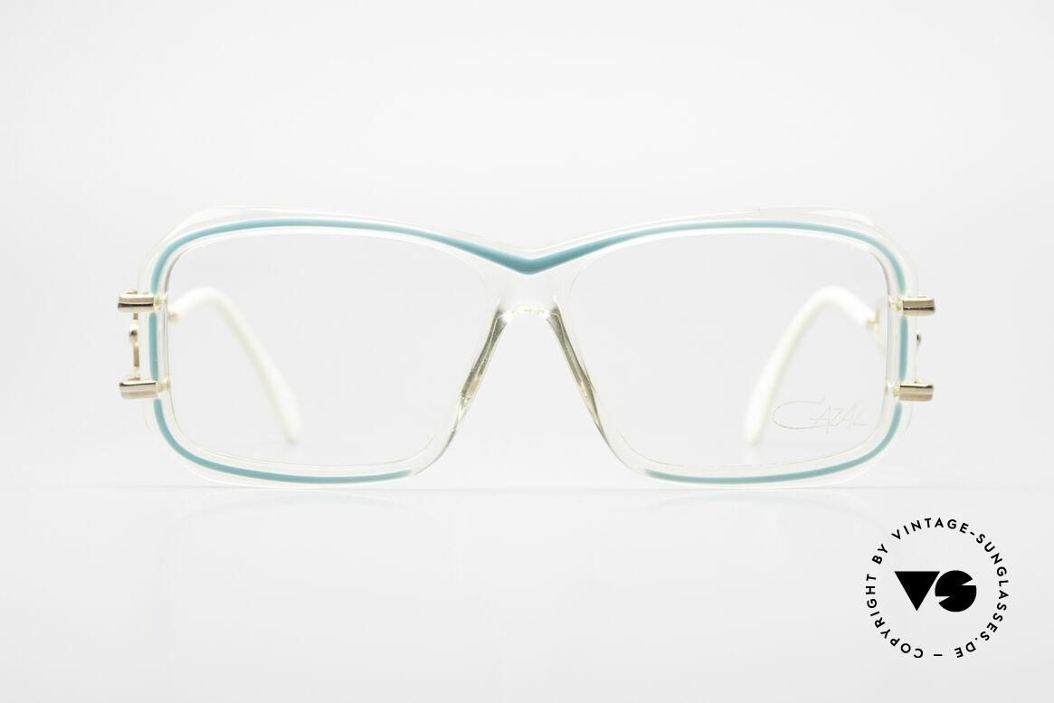 Cazal 173 Hip Hop Cazal 80er Brille, Kunstoff-Rahmen mit markanten Metallbügeln, Passend für Damen