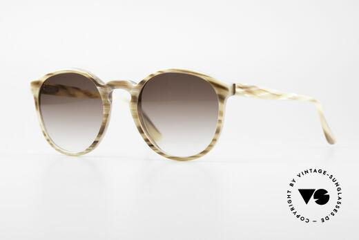 Hartmanns H42 Horn Stil Johnny Depp Sonnenbrille Details