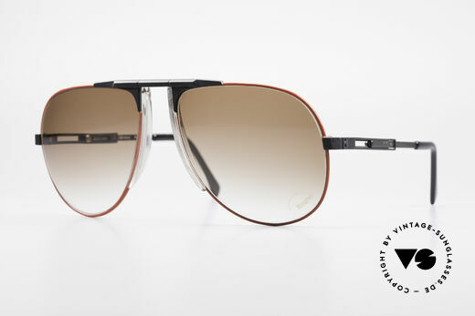 Willy Bogner 7011 Einstellbare 80er Sonnenbrille Details