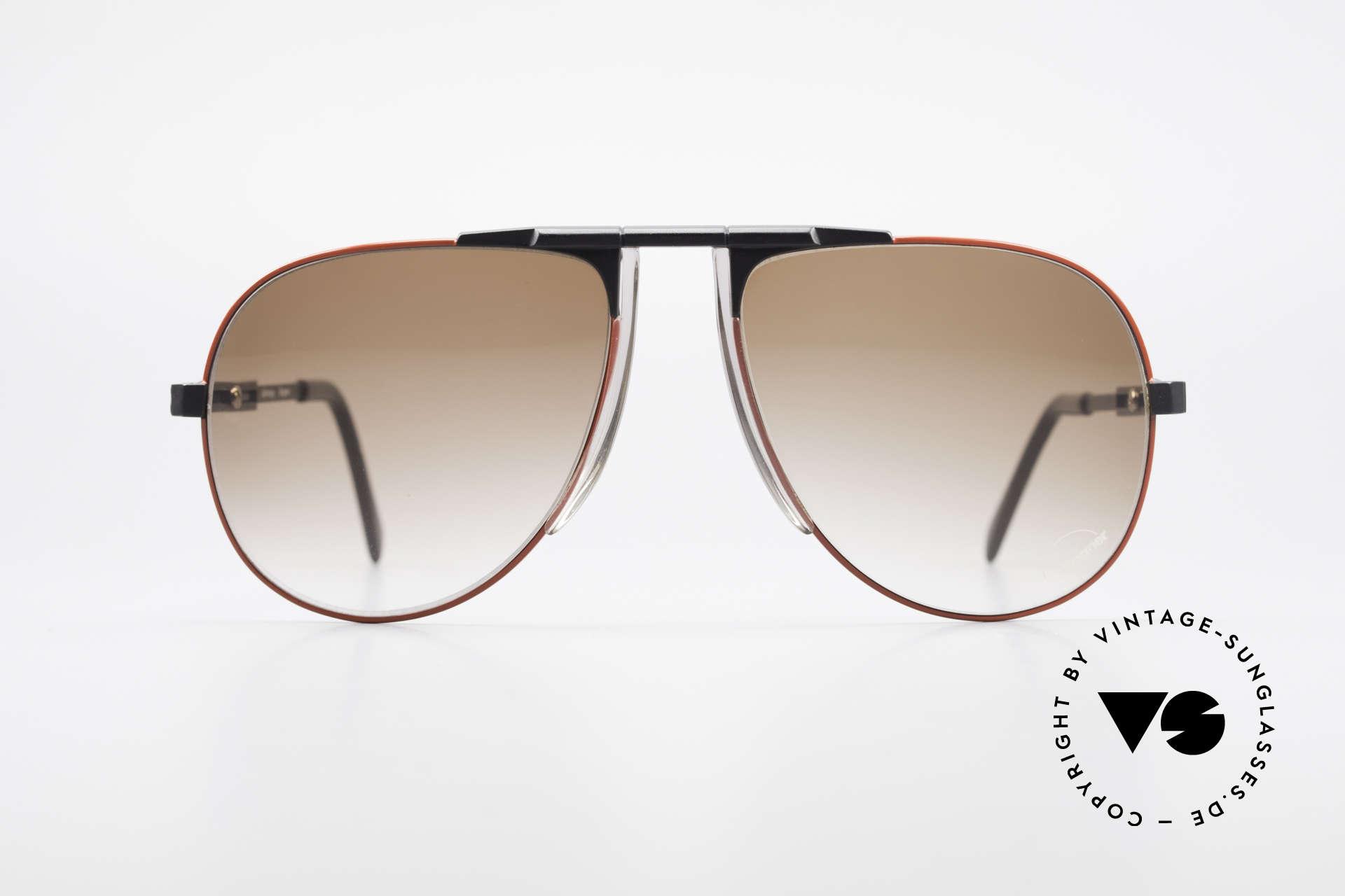 Willy Bogner 7011 Einstellbare 80er Sonnenbrille, stufenlos verstellbare Eschenbach-Bügel (1A Komfort), Passend für Herren