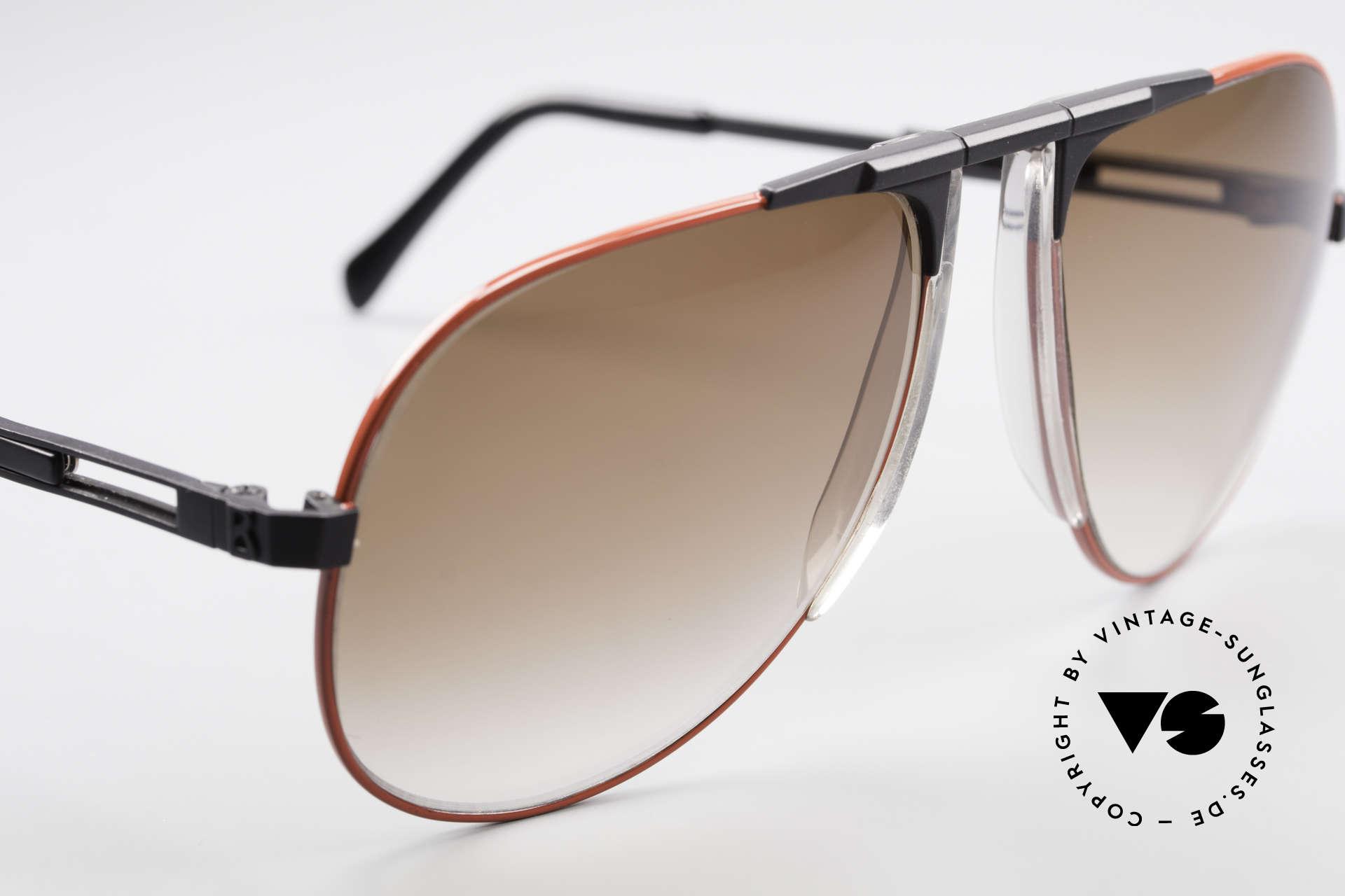 Willy Bogner 7011 Einstellbare 80er Sonnenbrille, ungetragen (wie alle unsere W. BOGNER Sonnenbrillen), Passend für Herren