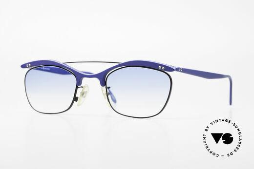 L.A. Eyeworks PLUTO III No Retro Vintage Sonnenbrille Details