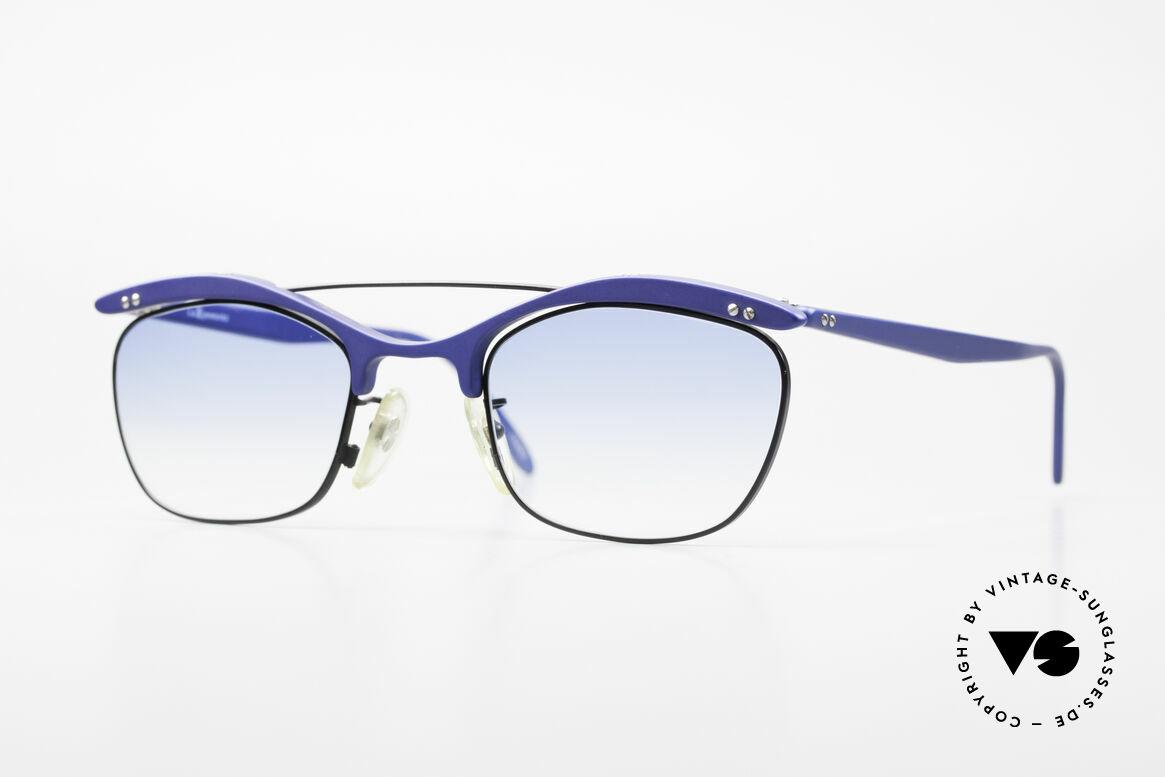 L.A. Eyeworks PLUTO III No Retro Vintage Sonnenbrille, L.A. Eyeworks: Kleinstserien aparter Brillen-Modelle, Passend für Herren und Damen