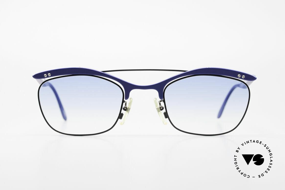 L.A. Eyeworks PLUTO III No Retro Vintage Sonnenbrille, mutige Designs entgegen aller konventionellen Trends, Passend für Herren und Damen