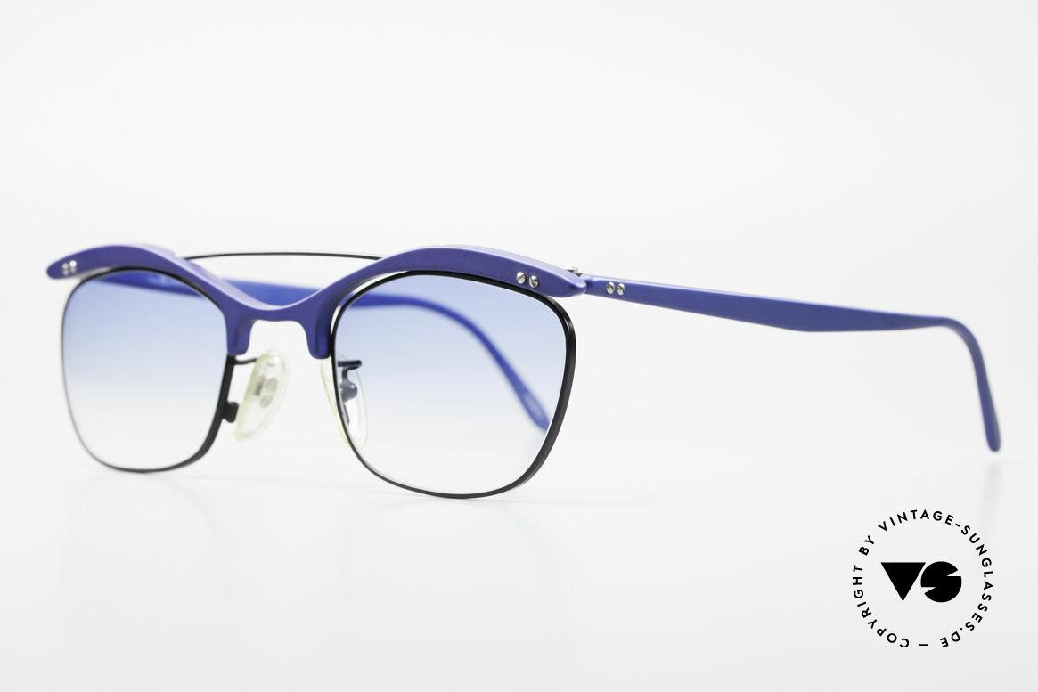 L.A. Eyeworks PLUTO III No Retro Vintage Sonnenbrille, viel Liebe zum Detail (jeder Rahmen mit 'Geburtsjahr'), Passend für Herren und Damen