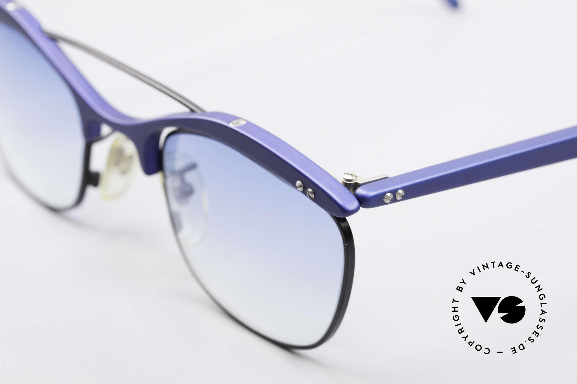 L.A. Eyeworks PLUTO III No Retro Vintage Sonnenbrille, ungetragen (wie all unsere vintage LAE Sonnenbrillen), Passend für Herren und Damen